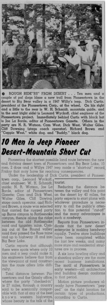 July 25, 1947 - The Grizzly