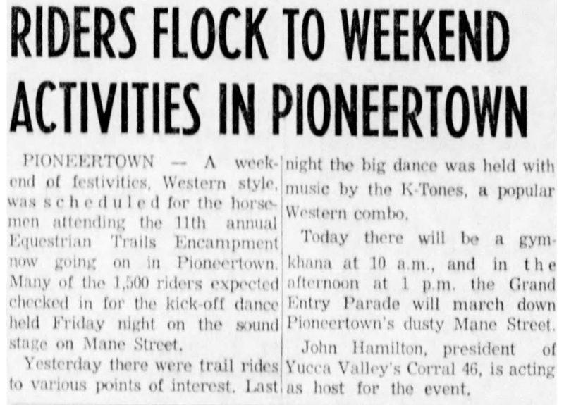 May 24, 1959 - The San Bernardino County Sun article clipping